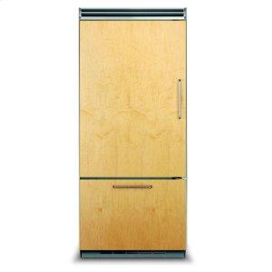 "VIKING36"" Custom Panel Bottom-Freezer Refrigerator, Left Hinge/Right Handle"