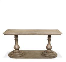 Corinne Rectangular Sofa Table Sun-drenched Acacia finish