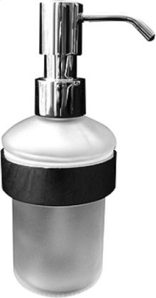 Chrome D-code Soap Dispenser