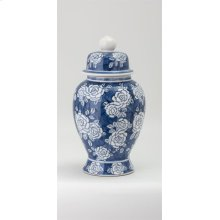 Remy Small Ceramic Decorative Lidded Jar