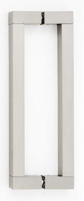 Block Back-to-Back Pull G420-8 - Satin Nickel
