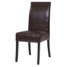 Valencia Leather Chair, Brown