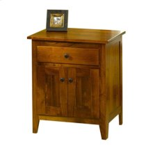 Jamestown Square 1 Drawer & 2 Doors Nightstand