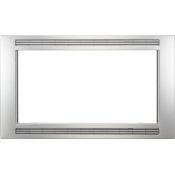 Grey/Stainless 30'' Microwave Trim Kit