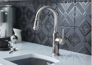 Blanco Empressa Bar Faucet - Stainless Finish
