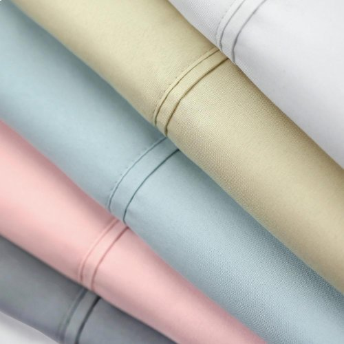 Brushed Microfiber - Short Queen White
