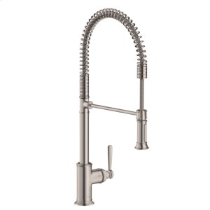Steel Optic Semi-Pro Kitchen Faucet 2-Spray, 1.75 GPM Product Image