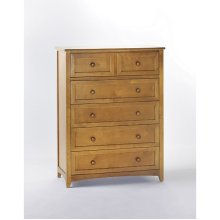 5 Drawer Chest (Pecan)