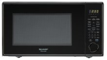 Sharp Carousel Countertop Microwave Oven 1.1 cu. ft. 1000W Black