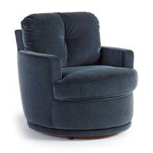 SKIPPER Swivel Barrel Chair