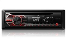 CD Receiver with MP3 Playback and Front AUX-In