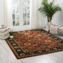 Jaipur Ja35 Brk Rectangle Rug 5'6'' X 8'6''