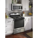 Amana 30-Inch Gas Range With Easy Touch Electronic Controls - Black