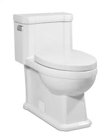 White OCTAVE II One-Piece Toilet 1.28gpf, Elongated