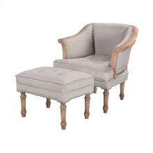 Sofa Wing Chair And Ottoman