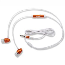 Enjoy your tunes with these STIHL ear buds.
