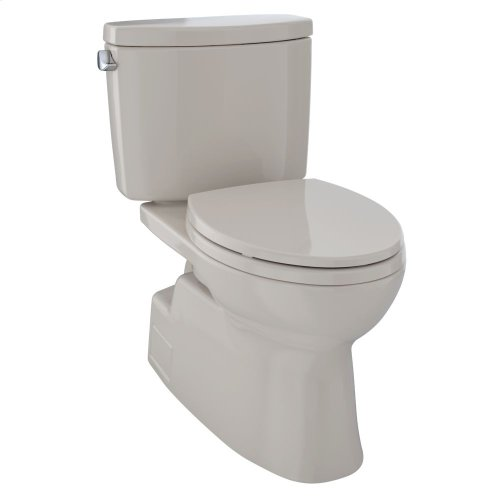 Vespin® II Two-Piece Toilet, Elongated Bowl - 1.28 GPF - Bone