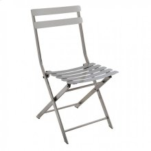 Lilah Stainless Folding Chair (2/ctn)