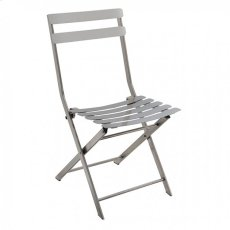 Lilah Stainless Folding Chair (2/ctn) Product Image