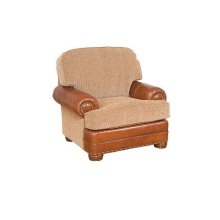 Edward Leather/Fabric Chair