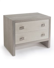 Chepstow Two-Drawer Nightstand