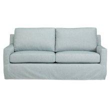 Slip Covered Sofa - Mist Finish