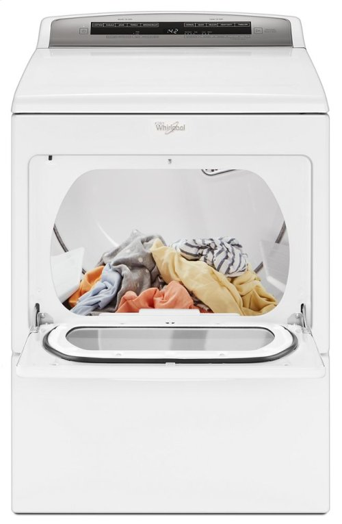 7.4 cu.ft Top Load HE Gas Dryer with AccuDry , Intuitive Touch Controls