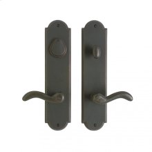 """Arched Entry Set - 3"""" x 13"""" White Bronze Light"""