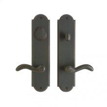 "Arched Entry Set - 3"" x 13"" White Bronze Medium"