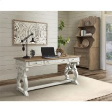 Madison - Writing Desk - Caramel/rustic White Finish