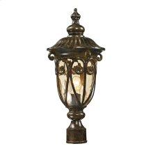 Logansport Collection 1 light outdoor post light in Hazelnut Bronze