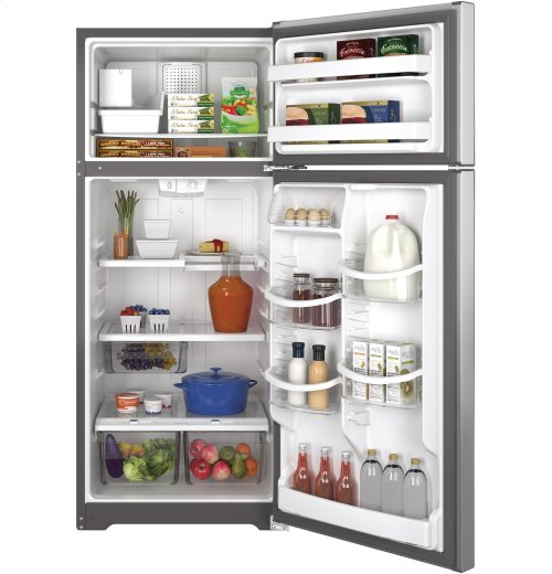 GE® ENERGY STAR® 17.6 Cu. Ft. Top-Freezer Refrigerator