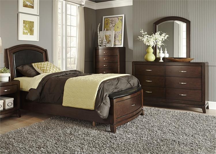 Full Storage Bed, Dresser U0026 Mirror