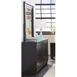 Mirror - Black Finish