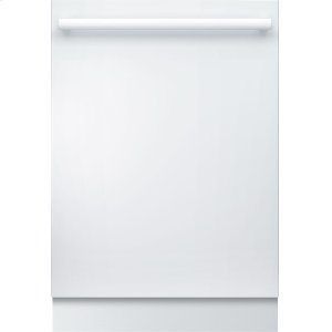 Bosch800 DLX Bar Hndl, 6/6 cycles, 42 dBA, Flex 3rd Rck, UR glide, Touch Cntrls, InfoLight - WH
