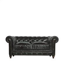 """77"""" Cigar Club Leather Sofa"""