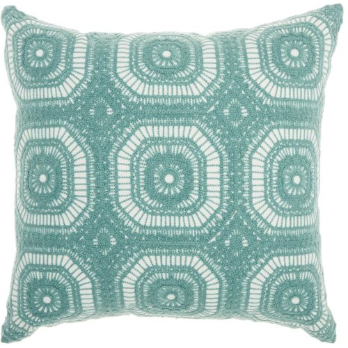 "Life Styles L1023 Celadon 18"" X 18"" Throw Pillows"