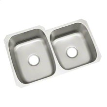 "McAllister® Undercounter Double-basin Kitchen Sink, 31-3/4"" x 20-3/4"" / 18"""