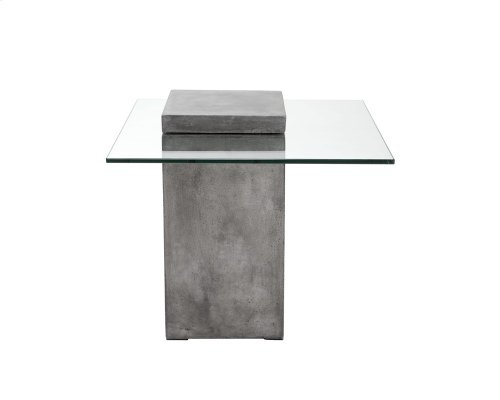Grange End Table - Grey