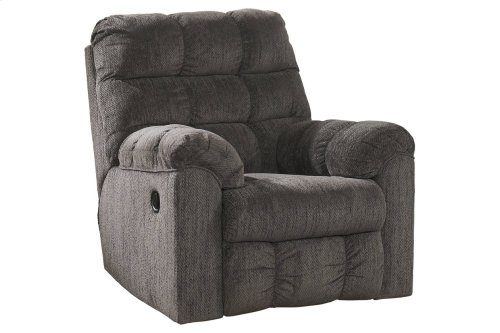 Acieona Swivel Rocker Recliner - Slate