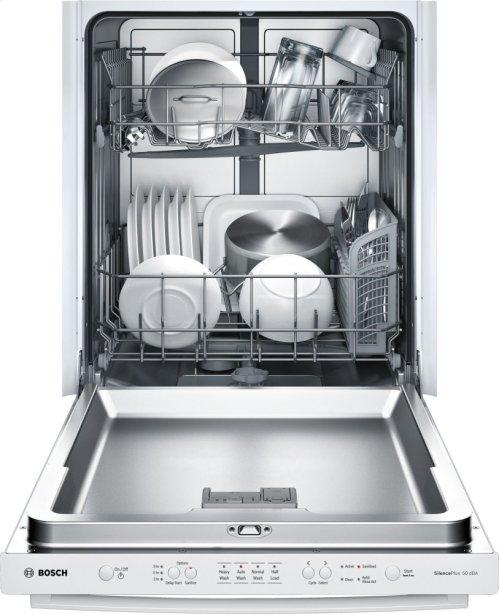 """24"""" Bar Handle Dishwasher Ascenta- White SHX3AR52UC"""