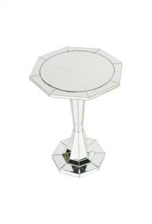 Trenton Round Pedastal End Table