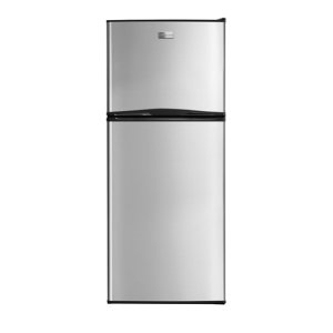 12 Cu. Ft. Top Freezer Apartment-Size Refrigerator - STAINLESS STEEL