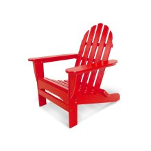 Sunset Red Classic Folding Adirondack