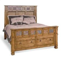 Sedona Queen Bed w/ Storage Product Image