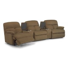 Triton Fabric Reclining Sectional