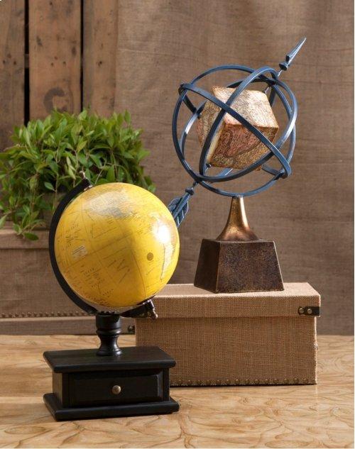Globe with Storage