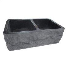"""Bowdon Double Bowl Granite Farmer Sink - 33"""""""