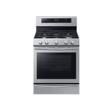 5.8 cu. Ft. Freestanding Gas Range with True Convection and Steam Reheat