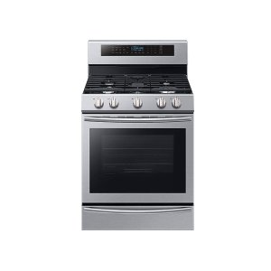 Samsung Appliances5.8 cu. ft. Freestanding Gas Range with True Convection and Steam Reheat in Stainless Steel